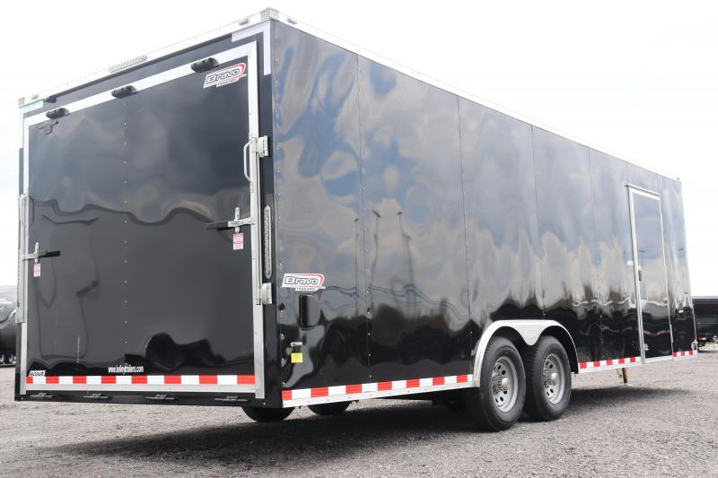 2020 Bravo Trailers 8.5x24 10K Scout Car Racing Trailer