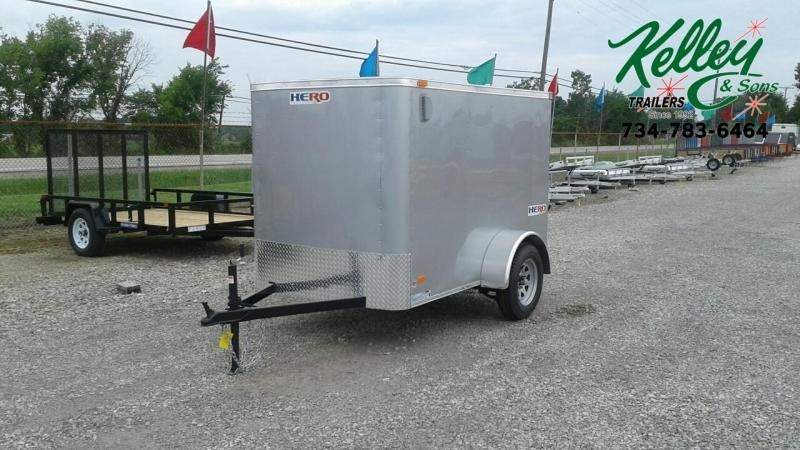 2020 Bravo Trailers 5x8 Hero Enclosed Cargo Trailer