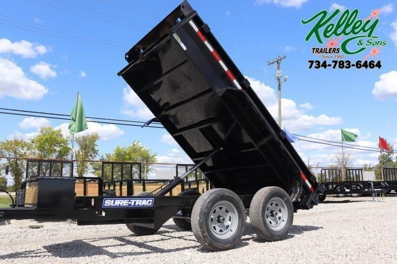 "2020 Sure-Trac 62""x10 7K Single Ram Dump Trailer"