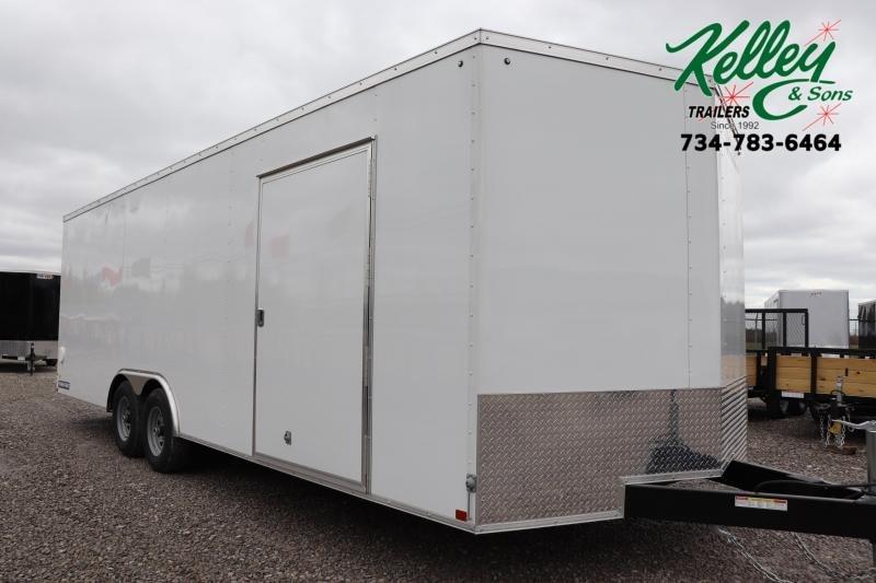 2020 Sure-Trac 8.5x24 10K Wedge Car Hauler Enclosed Cargo Trailer