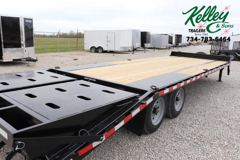 2020 Sure-Trac 8.5x20+5 17.6K Low Pro Beavertail Deckover