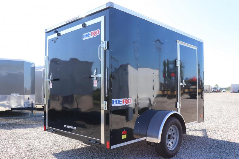 2020 Bravo Trailers 6x10 Hero w/ Ramp Enclosed Trailer