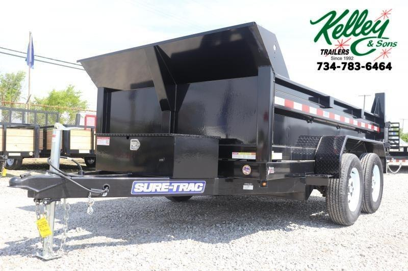 "2020 Sure-Trac 72""x10 7K Single Ram Dump Trailer"