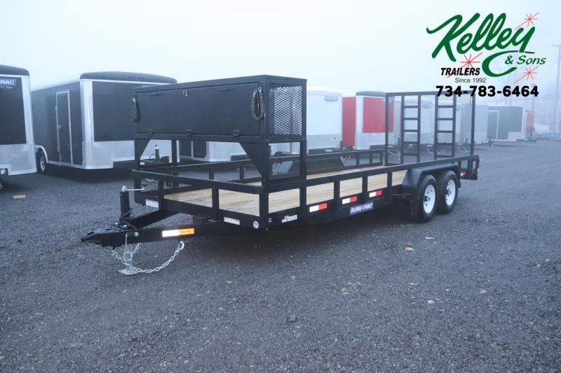 2020 Sure-Trac 7x20 10K Tube Top Utility Trailer
