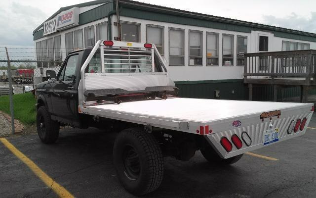 2020 Aluma 81106 Single Wheel Long Bed Aluminum Truck Bed