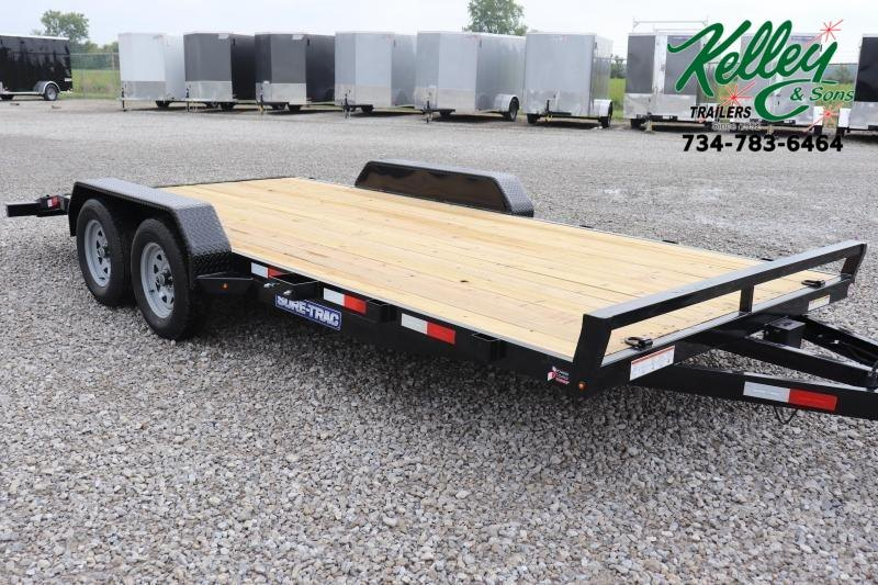 2020 Sure-Trac 7x18 7K Wood Deck Car Hauler