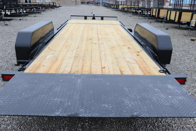 2020 Sure-Trac 7x16+4 14K Tilt Bed Equipment Trailer