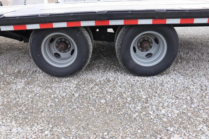 2019 Sure-Trac 8.5x22+10 HD GN Hydraulic Beavertail Deckover Flatbed Trailer