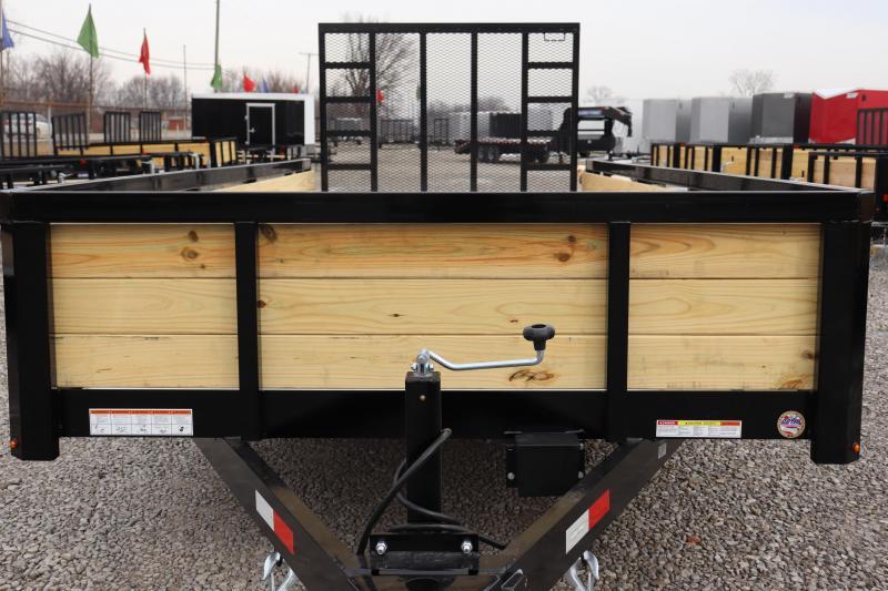 2020 Sure-Trac 7x18 10K 3-Board Utility Trailer
