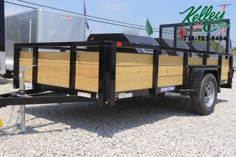 2020 Sure-Trac 6x12 Tube Top 3-Board Utility Trailer