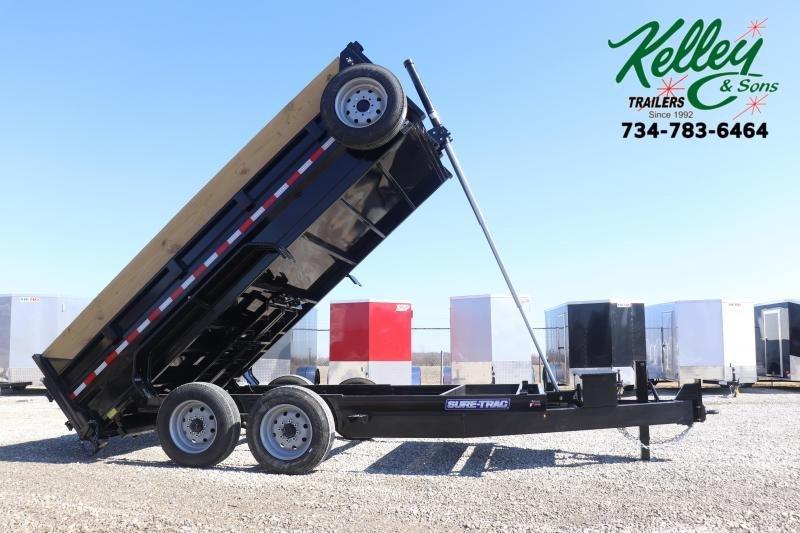 2020 Sure-Trac 82INX14 16K Low Pro Telescopic Dump