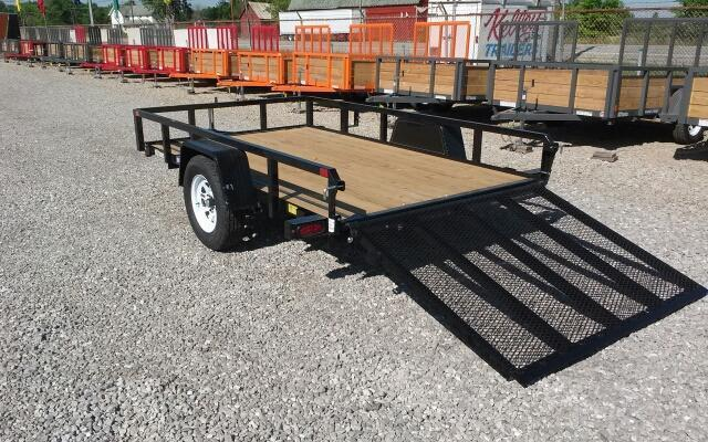 2020 Sure-Trac 7x12 Tube Top Utility Trailer