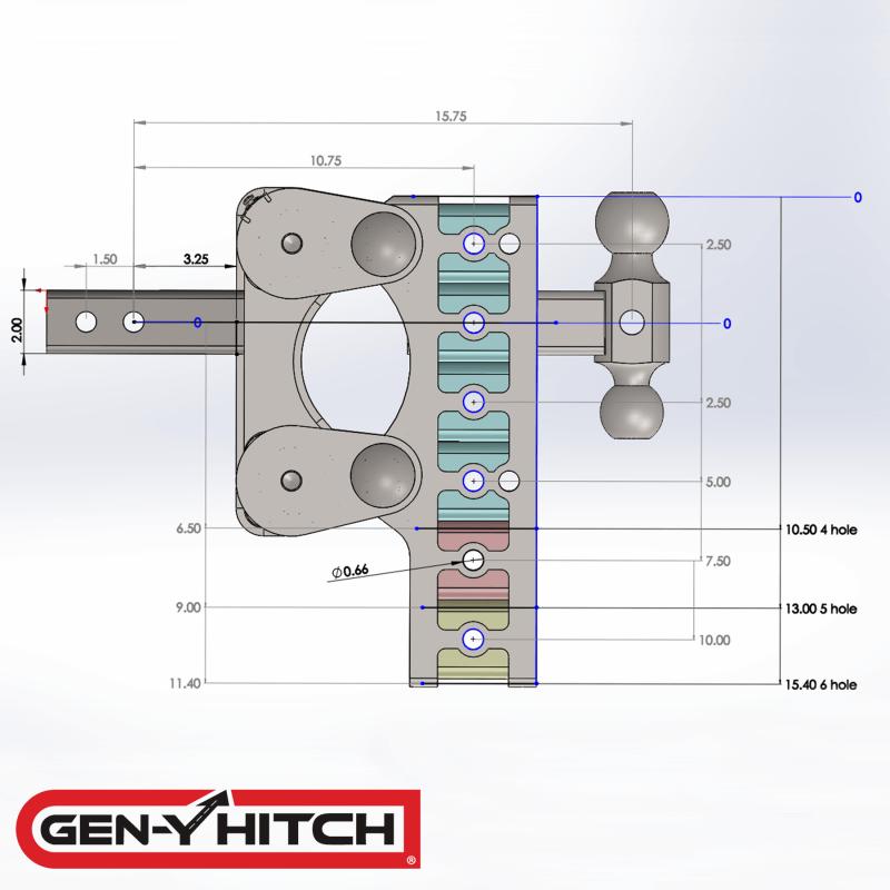 2020 Gen-Y Hitch GH-1225
