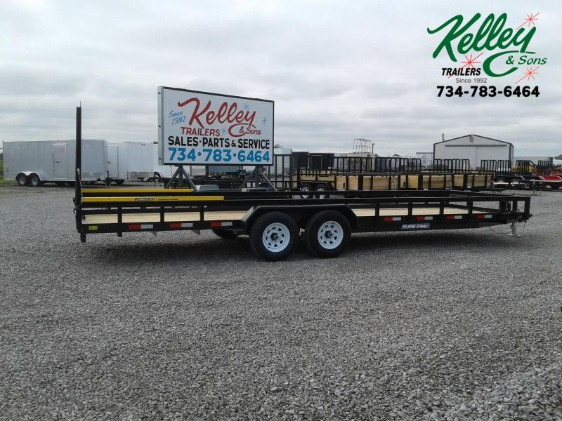 2020 Sure-Trac 7x24 10K Tube Top Utility Trailer