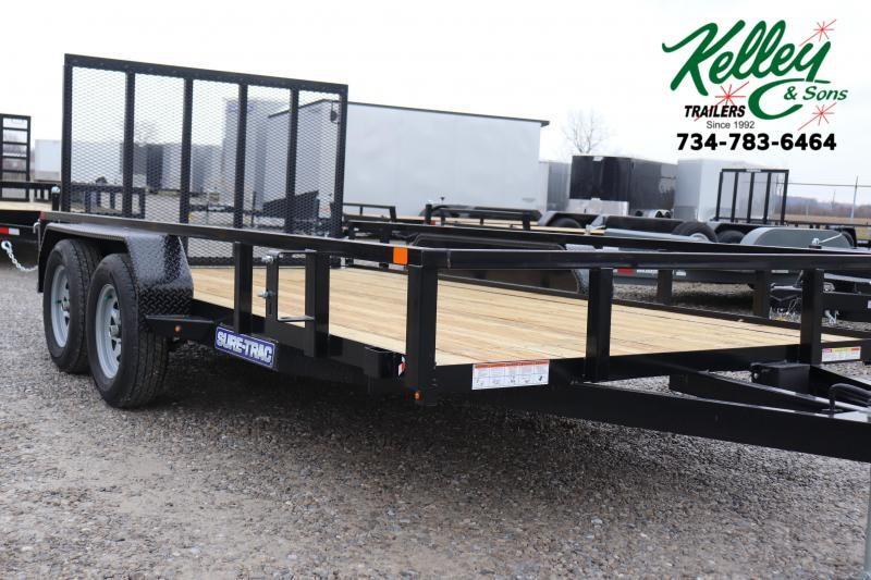 2020 Sure-Trac 7x14 7K Tube Top Utility Trailer