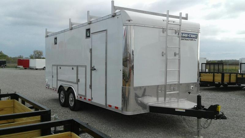 2020 Sure-Trac 8.5x20 14K Contractor Pro Enclosed Cargo Trailer