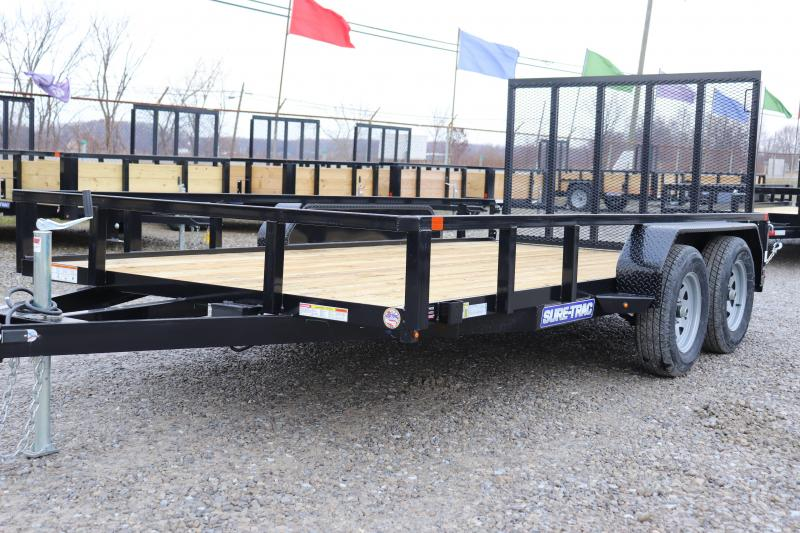 2020 Sure-Trac 7x14 7K Tube Top Utility Trailer