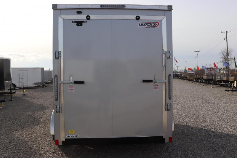 2020 Bravo Trailers 6x12 7K Scout w/ Ramp Door Enclosed Cargo Trailer