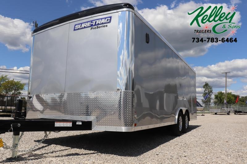 2019 Sure-Trac 8.5x20 10K Pro Series Round Top Car / Racing Trailer