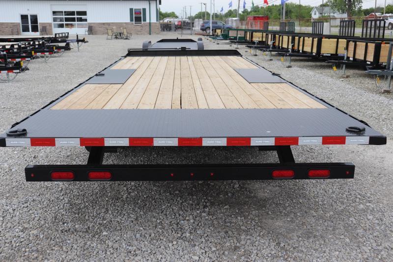 """2020 Sure-Trac 102""""x22 15K Deckover Tilt Flatbed Trailer"""
