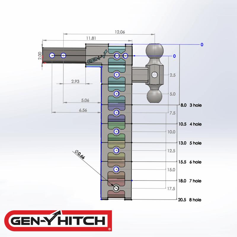 2020 Gen-Y Hitch GH-523