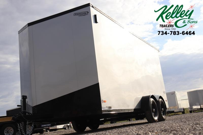 2020 Bravo Trailers 7x16 7K Scout w/ Midnight Edition Pkg Enclosed Cargo Trailer