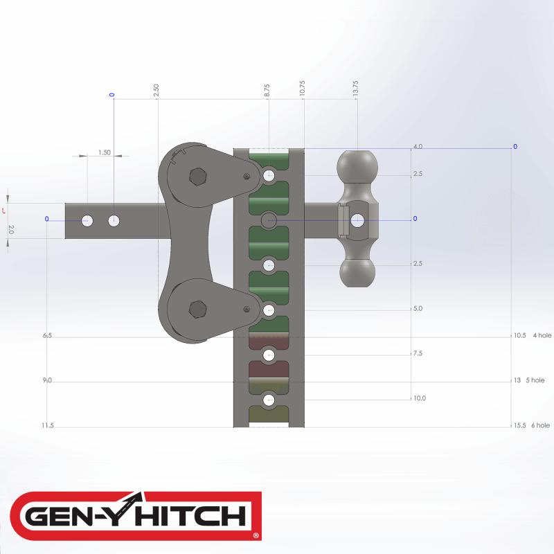 2020 Gen-Y Hitch GH-1025