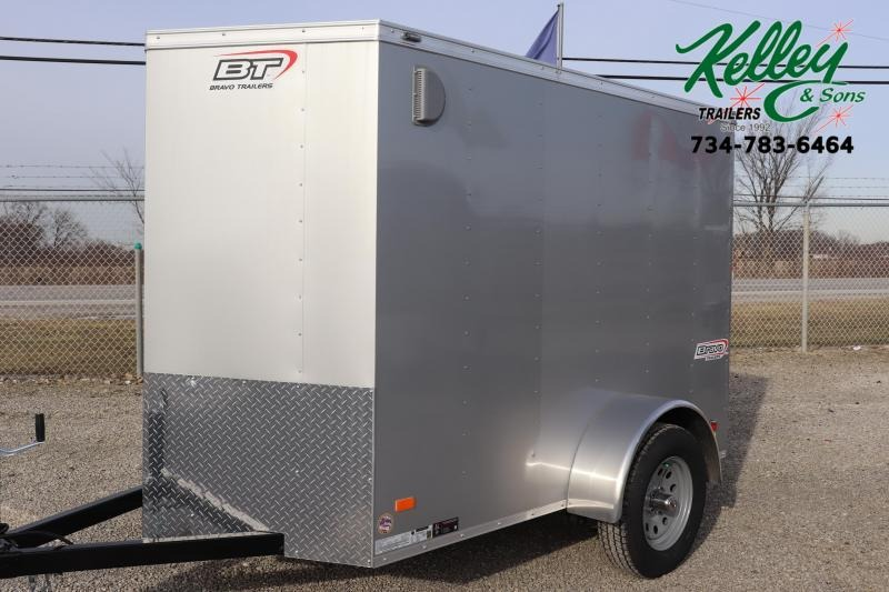 2020 Bravo Trailers 5x8 Scout w/ Ramp Door Enclosed Cargo Trailer