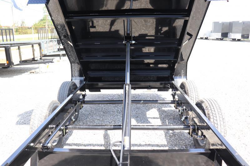 "2020 Sure-Trac 62""x10 7K Single Ram Dump Trailer"