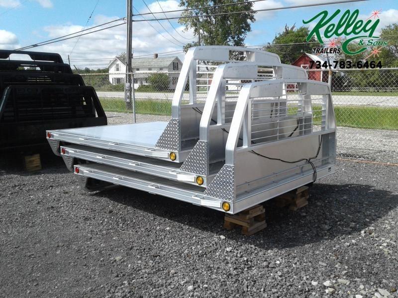 2019 Hillsboro Industries Series 2000 Aluminum Single Wheel Long Bed