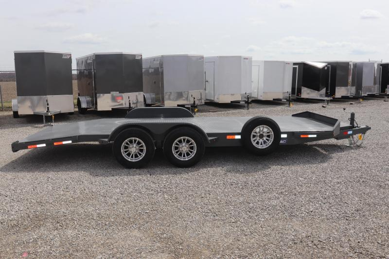 2020 Sure-Trac 7x20 10K Steel Deck Car Hauler Trailer
