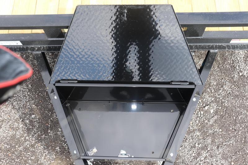 2020 Sure-Trac 7x18 14K Implement Equipment Trailer