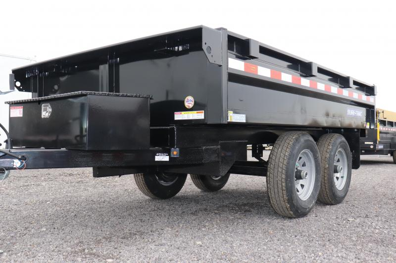 "2020 Sure-Trac 72""x10 10K Deckover Single Ram Dump Trailer"