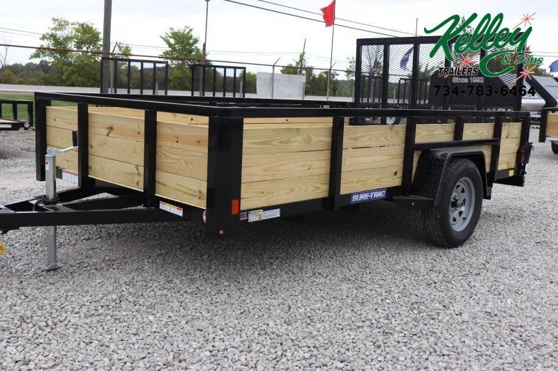 2020 Sure-Trac 7x12 3-Board Utility Trailer
