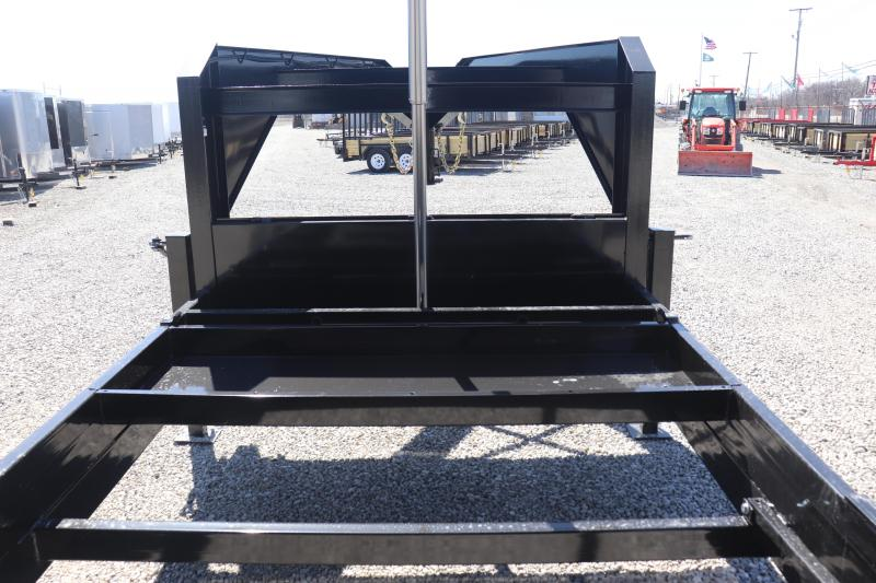 2020 Sure-Trac 82INx16 21K Low Pro Telescopic Gooseneck Dump Trailer