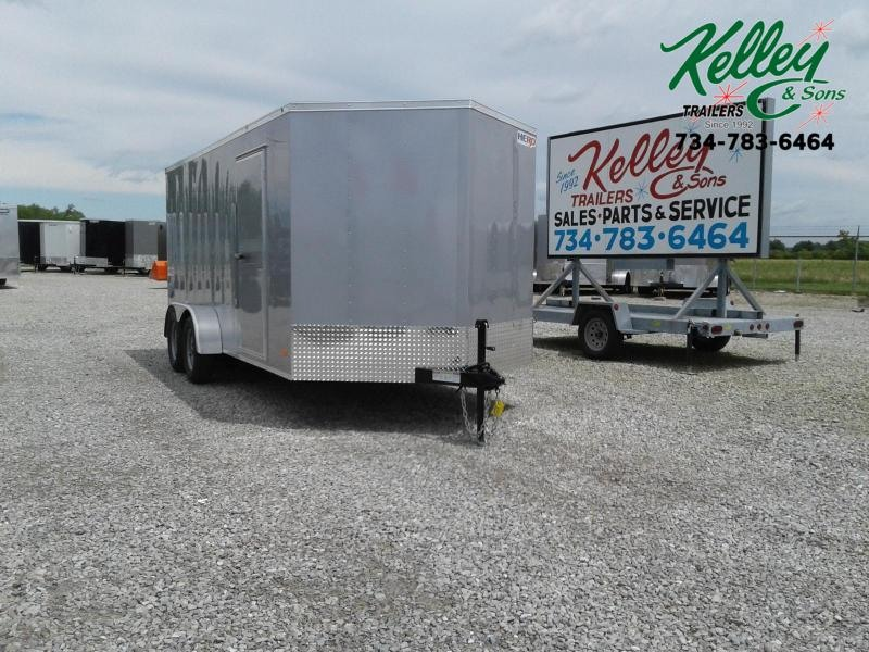 2020 Bravo Trailers 7x16 Hero w/ Ramp Door Enclosed Cargo Trailer