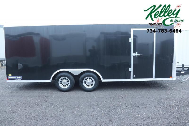 2019 Sure-Trac 8.5x20 10K Round Top Landscape Pro Enclosed Cargo Trailer