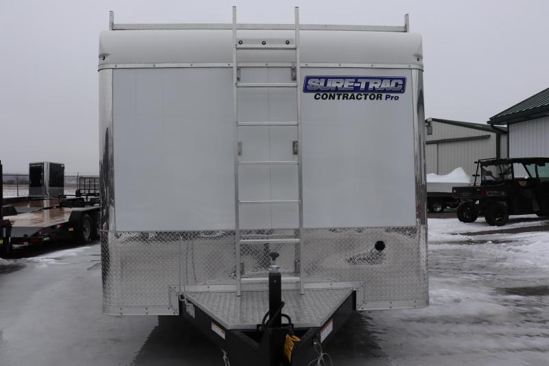 2020 Sure-Trac 8.5x16 10K Contractor Pro Enclosed Cargo Trailer