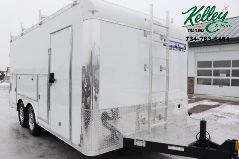 2020 Sure-Trac 8.5x16 10K Contractor Pro Enclosed Cargo Trailer