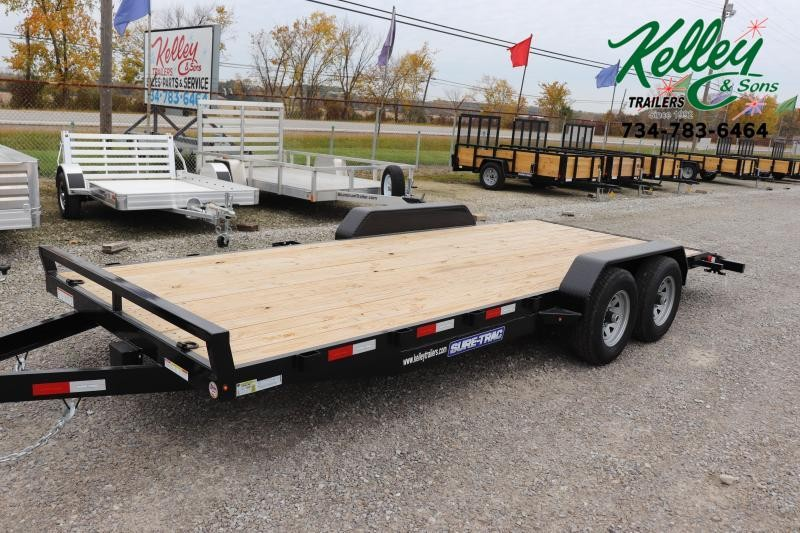 2020 Sure-Trac 7x20 10K Wood Deck Car Hauler