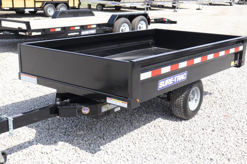 2020 Sure-Trac 4.5x8 Utility Dump Trailer