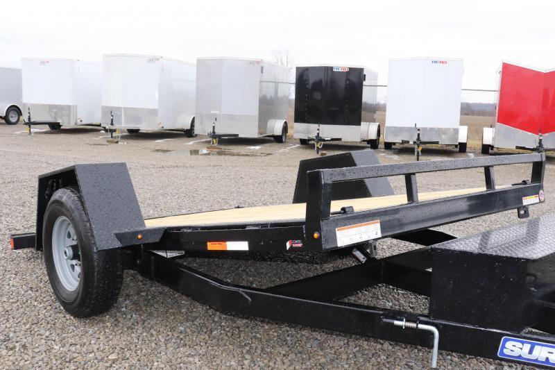 "2020 Sure-Trac 78""x12 7.8K Tilt Bed Equipment Trailer"