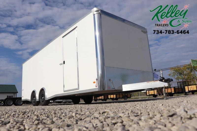 2020 Bravo Trailers 8.5x24 10K Silver Star Aluminum Car / Racing Trailer