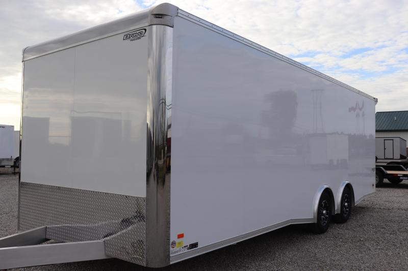 2020 Bravo Trailers 8.5x24 10K Silver Star Aluminum Car / Racing Trailer