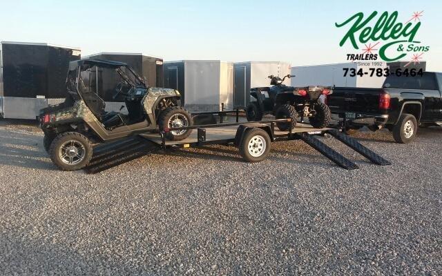 2020 Sure-Trac 7x14 ATV Tube Top Utility Trailer