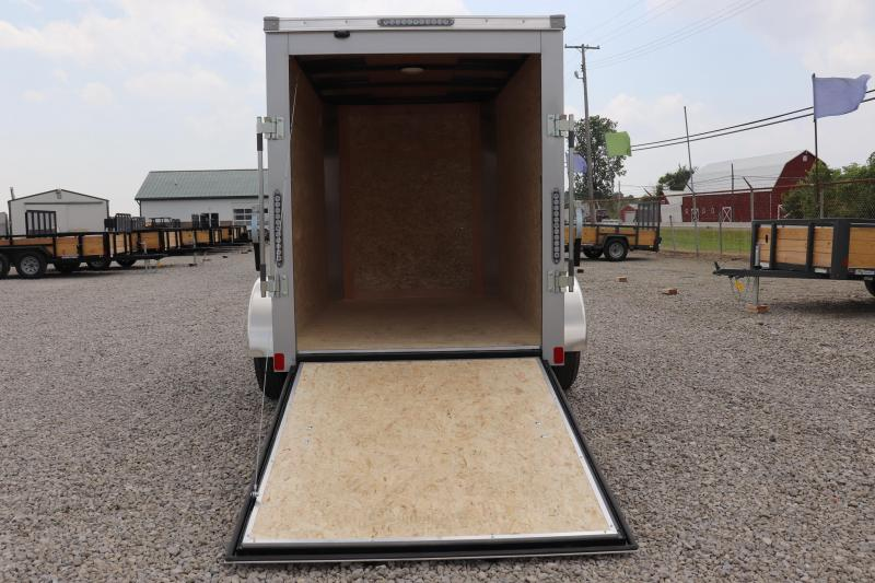 2020 Bravo Trailers 5x8 Scout w/ Ramp Door Enclosed Cargo Trailer
