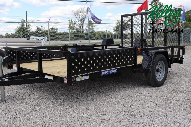2020 Sure-Trac 7x12 Tube Top ATV Trailer