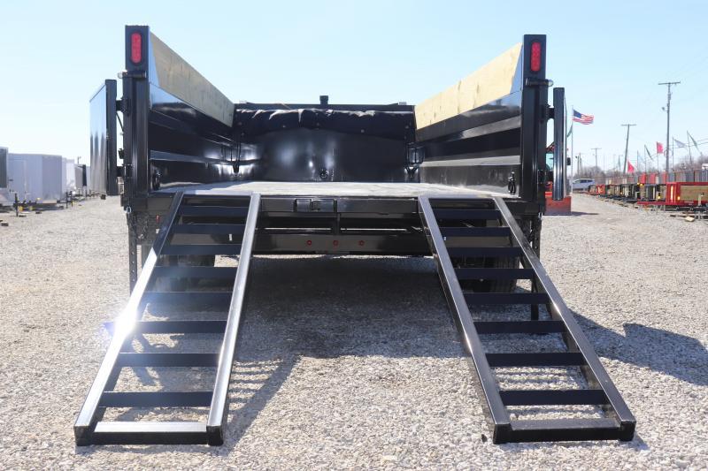 2020 Sure-Trac 82INx16 14K Telescopic Pro Dump Trailer