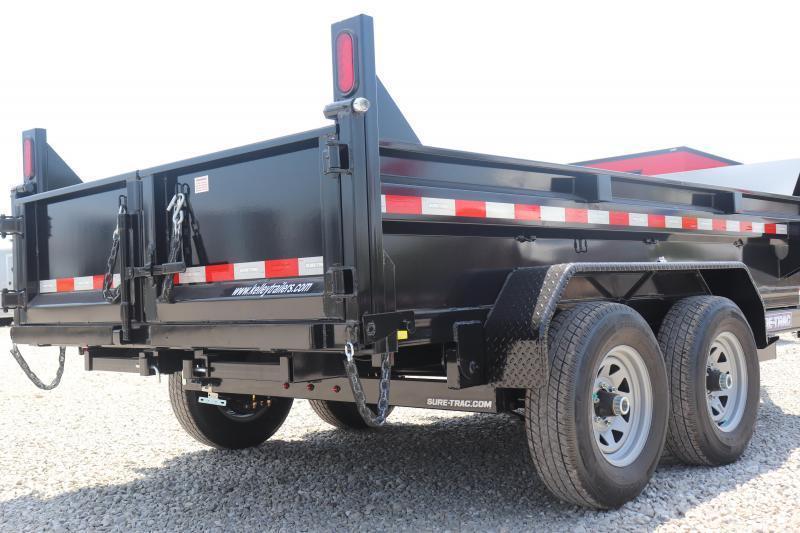 2020 Sure-Trac 72INx12 10K Single Ram Dump Trailer
