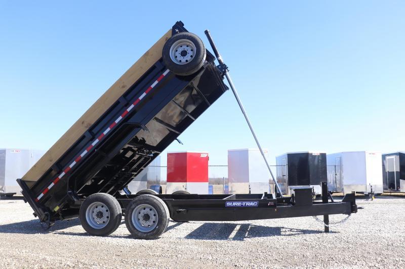 2020 Sure-Trac 82INX14 16K Low Pro Telescopic Pro Series Dump